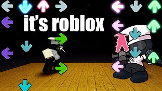 roblox friday night funkin is REAL