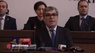 Իշխանությունը փող է բաժանում, որ գա իշխանության, որ փող աշխատի  Արամ Սարգսյան