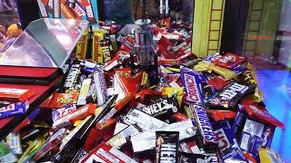 Chocolate Bar Claw Machine!!!