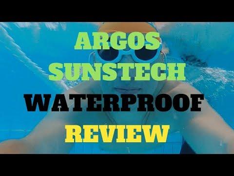 SUNSTECH ARGOS 💧🎵 Opinión cascos mp3 acuáticos para nadar escuchando música ▶️🐟 Unboxing y Review