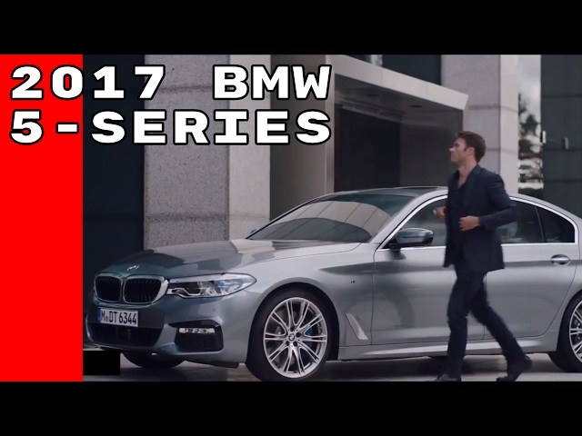 2017 BMW 5 Series Commercial Trailer Featuring Scott Eastwood