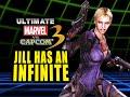 JILL HAS AN INFINITE?! Ultimate Marvel Vs. Capcom 3 - Online Matches