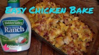 Ranch Chicken & Potato Bake  Quick & Easy Recipe