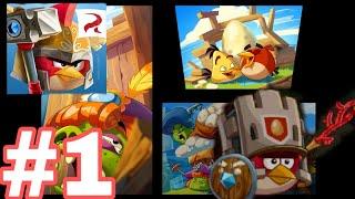 Cùng chơi angry birds epic #1 đã có được quả trứng thứ nhất