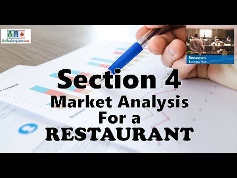 MARKET ANALYSIS FOR A RESTAURANT