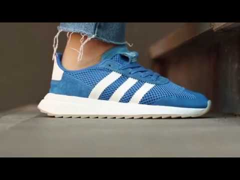 f2b725c5995 Adidas flashback W blue | Sooco - YouTube