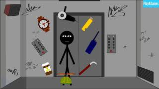 Stickman Escape Lift By (Starodymov)