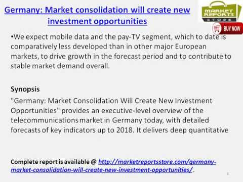 Telecom Market across Germany - Opportunities & Challenges