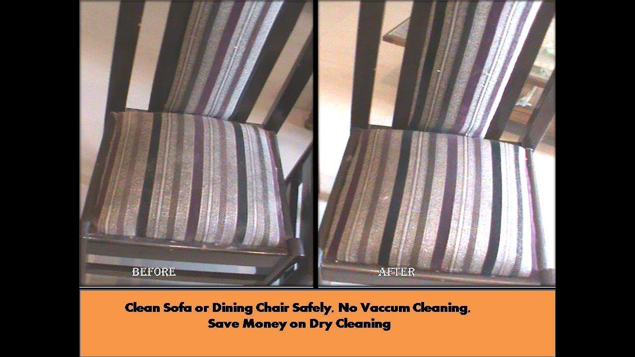 How To Dry Clean Sofa At Home How To Dry Clean Dining Chair Sofa Set At Home Very Easily