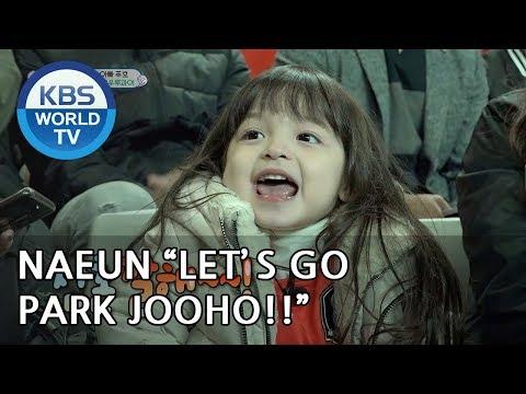 Naeun 'Let's go! Park Jooho!! XD' [The Return of Superman/2018.10.28]