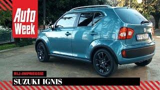 Suzuki Ignis - AutoWeek Review(Met de nieuwe Ignis wil Suzuki graag meedoen met hippe vogels als de Fiat 500 en Opel Adam. Het uiterlijk haakt in op de Suzuki's uit de seventies, vanbinnen ..., 2016-12-02T13:52:20.000Z)