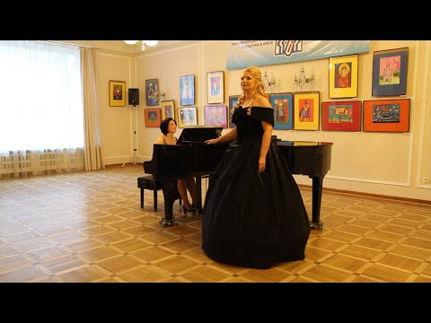 Сольный концерт Марины Выскворкиной - солистки Национального театра Праги