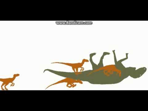 deinonychus vs edmontosaurus
