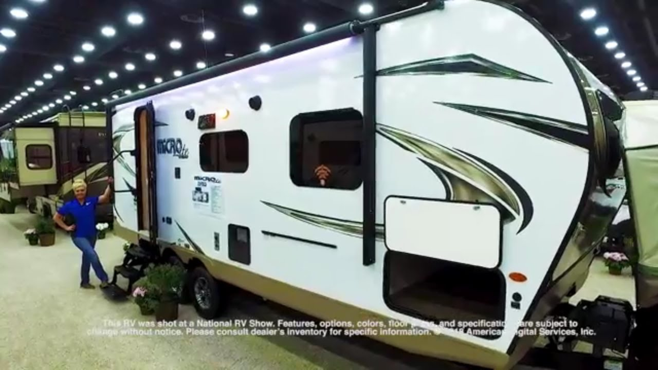New 2019 Forest River RV Flagstaff Micro Lite 25FBLS Travel