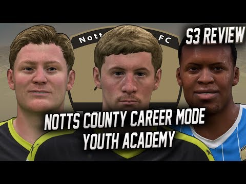 FIFA 19 - Notts County Career Mode - Season 3 REVIEW (Youth Academy)