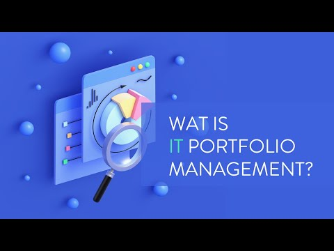 Wat is ITPM I IT Portfolio Management in 2 minuten