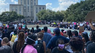 Thousands fill downtown Houston after march honoring George Floyd