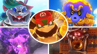 Super Mario Odyssey - All Bosses (No Damage)