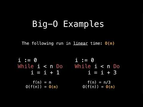 Introduction to Big-O