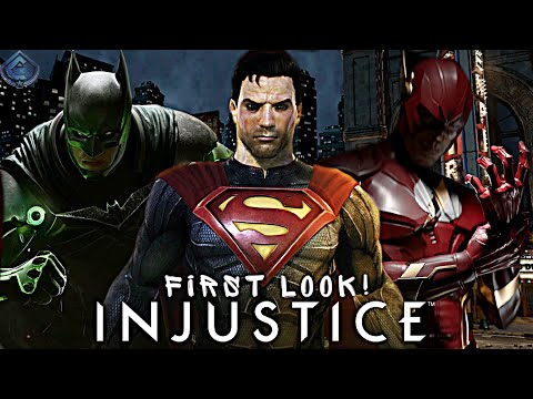 Download Injustice Animated Movie - FIRST LOOK and Voice Actors REVEALED!