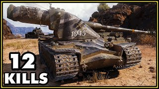 Kranvagn - 12 Kills - World of Tanks Gameplay