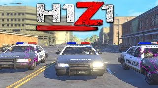 H1Z1 - ARRESTING PEOPLE IN THE GAME!?! H1Z1 Funny Moments And Gameplay!