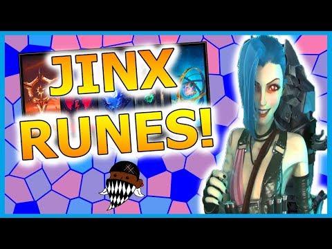 SEASON 8 Jinx ADC RUNES KEYSTONES GUIDE (League Of Legends) [ft Nathyiel]