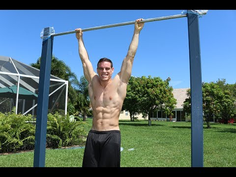 30 Unique Ab Exercises On A Pull Up Bar [6-pack style] | Brendan Meyers