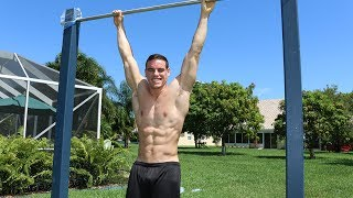 30 Unique Ab Exercises On A Pull Up Bar [6-pack style] | Brendan Meyers thumbnail
