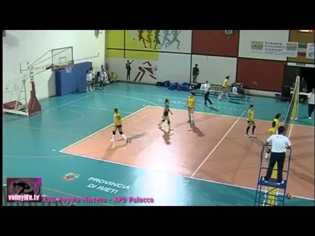 ASD Poggio Mirteto vs APD Palocco - 2° Set - Playout Serie D