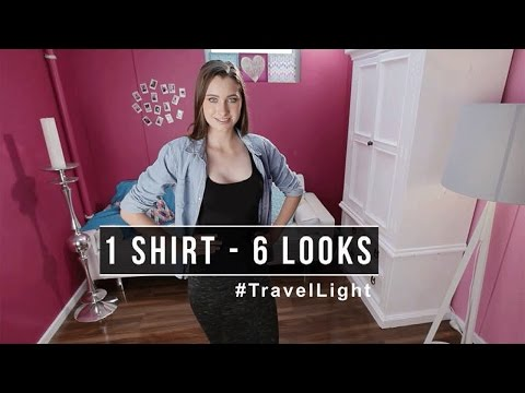 Travel Light: How to Pack a Capsule Wardrobe Piece 2 Chambray Shirt