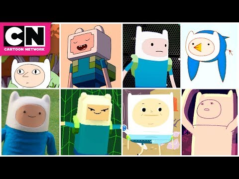 All The Animation Styles | Adventure Time | Cartoon Network