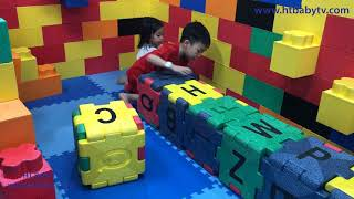 Khu Vui Choi Tre Em   Play Area For Children And Toy Supermarkets   Nursery Rhymes   HT BabyTV ✔︎