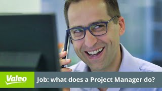 Working @Valeo: a project manager is an orchestra conductor. Dare and join us!