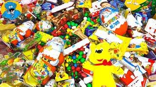 Обзор Новогодней Коллекции Праздничных Подарочных Наборов.Unboxing Surprise Eggs And Christmas Packs