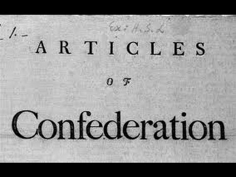 Articles of Confederation   1781