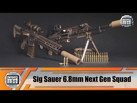 Review Sig Sauer Next Generation Squad Weapons NGSW US Army 6.8 Mm Caliber NGSW-AR  NGSW-R
