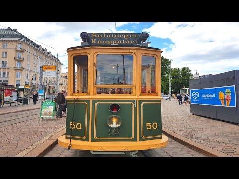 The museum tram in 1909. @Helsinki, Finland 2016