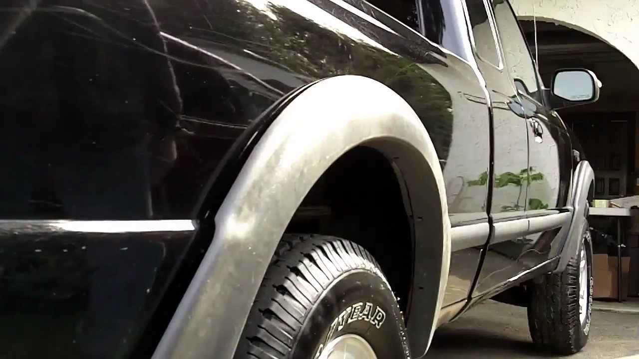 1998 Ford Ranger Fender Flare Install Youtube