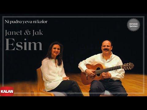 Janet & Jak Esim -  Ni Pudra Yeva Ni Kolor [ Antik Bir Hüzün © 2005 Kalan Müzik ]
