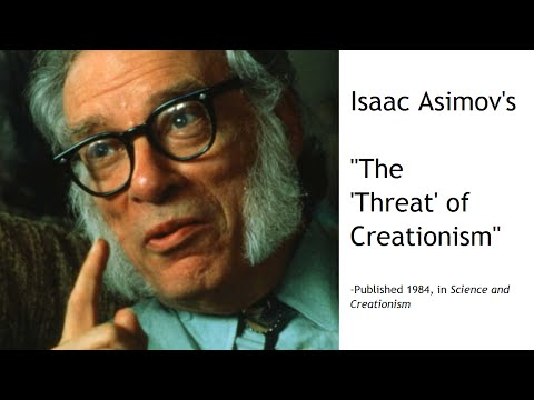 The Threat of Creationism, by Isaac Asimov