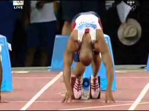 100m Final Olympic Games  Athens 2004