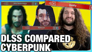 Cyberpunk 2077 DLSS Quality Comparison vs. Native, Benchmarks, & Blind Test