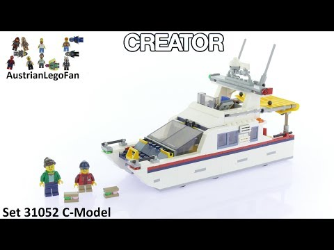 Lego Creator 31052 Vacation Getaways Model 3of3 - Lego Speed Build Review