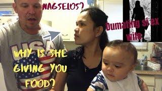 BIGLANG DUMATING SI EX-WIFE AT NAGBIGAY NG PAGKAIN | FIL-AM LIFE IN AMERICA