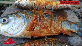Fish Roasting in The jungle / TIPRASA RECIPE