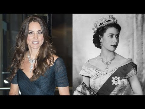 Kate Middleton Wears Queen Elizabeth II's Royal Jewels | Royal Report