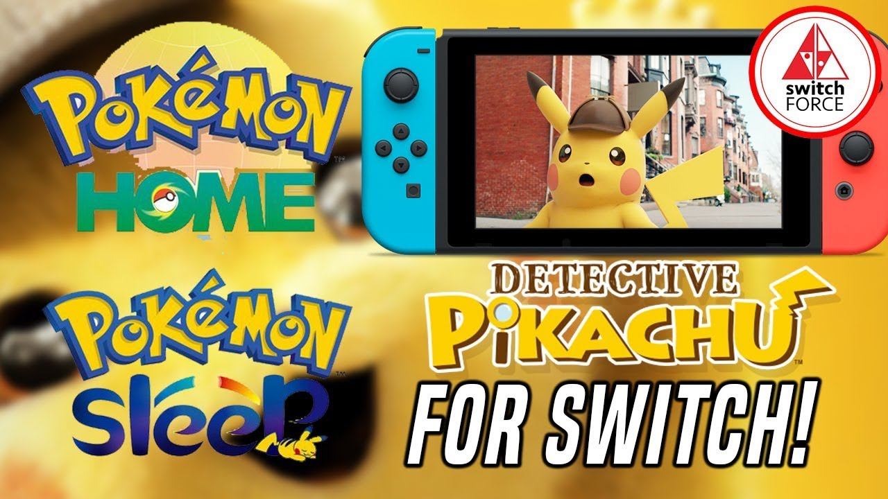 New Pokemon Experiences Coming Detective Pikachu Switch