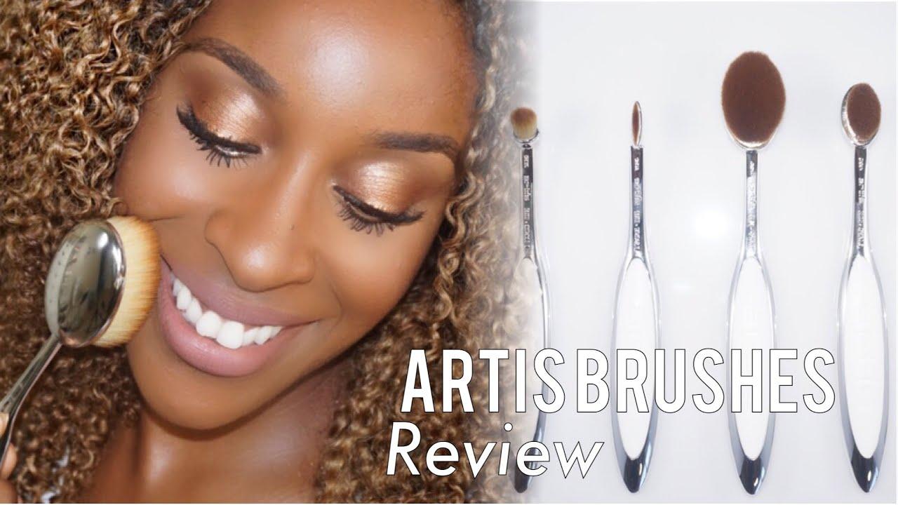 Artis brushes 1st impression review jackie aina youtube for Brush craft vs artis