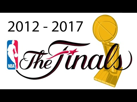 NBA Finals animated by TomoNews (2012 - 2017) - Compilation